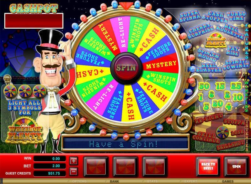 Win Real Money With Jackpots From Wheel Of Plenty Casino Game